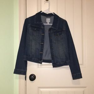 Children's Place Girls Denim Jacket Size XL(14)
